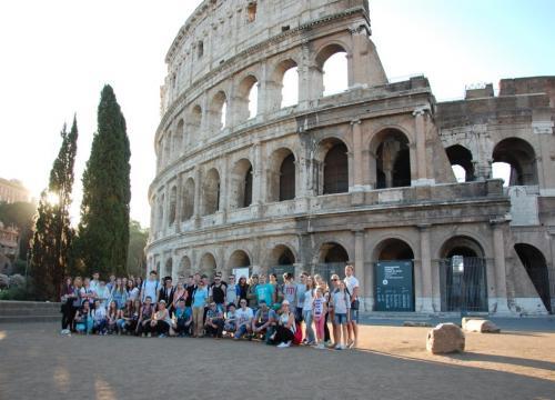 Włochy Gargano (Vieste), Rzym 2015